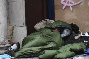 Rough sleeper numbers have fallen in Bassetlaw in the last year. Photo: Victoria Jones