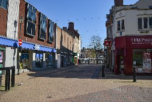 Streets in towns have been almost deserted since the lockdown was imposed