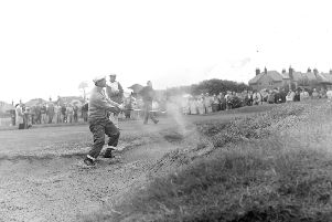 Lost Archives - The Open golf championships at Royal Lytham in 1963'Arnold Palmer