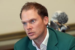 Golf star Danny Willett