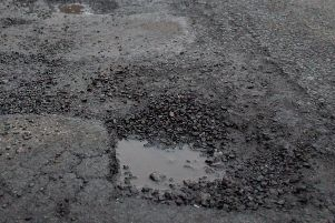 Pot holes are one of the biggest issues on our roads