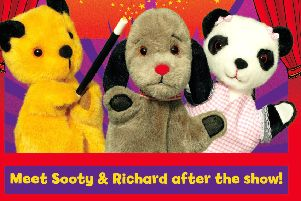 Family fun at Palace Theatre with Sooty and co