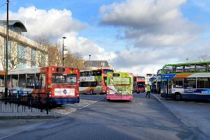 Bus journeys fell by more than a million in Nottinghamshire last year