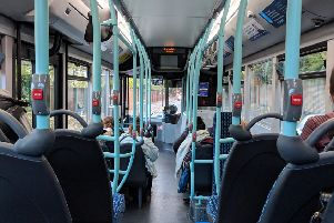 The bus is an exciting new world when you're a toddler