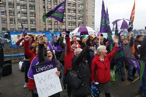 Victory for Unison after strike over pay