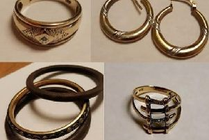 The woman was wearing these items of jewellery, according to Nottinghamshire Police.