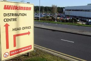 Wilko distribution centre in Worksop