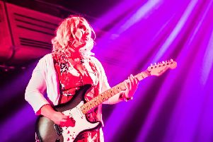 Top guitarist Chantel McGregor to play Sheffield and Nottingham gigs soon