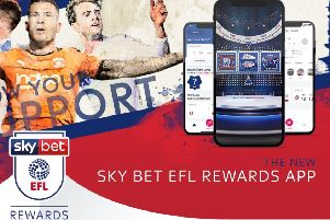 Sky Bet EFL app offers fans rewards for supporting their team