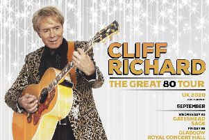 Nottingham and Sheffield dates announced for Sir Cliff Richard's The Great 80 Tour next year