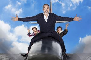 See David Walliams best seller Grandpa's Great Escape when it comes to Motorpoint Arena Nottingham in December