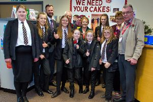 Staff and students at Frederick Gent School in South Normanton raised more than �100 for the Poppy Appeal with a cake sale on Friday, November 8.