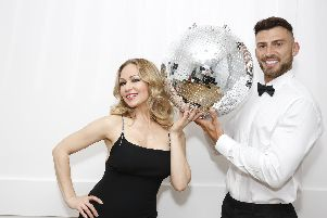 Kristina Rohanoff and Jake Quickenden in Dance to the Music.
