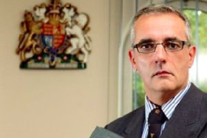 Senior coroner for Derby and Derbyshire, Dr Robert Hunter.