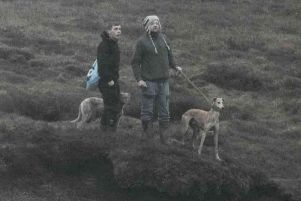 Police are trying to track the two other men who were involved in hunting with dogs on the High Peak moors