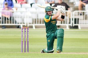 Riki Wessels, who has left Nottinghamshire to join Worcestershire. (PHOTO BY: Jason Chadwick)