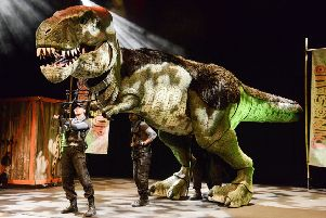 Dinosaur spectacular will be at Nottingham Royal Concert Hall this summer