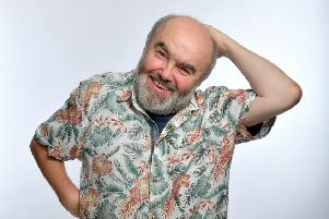 See comedian Andy Hamilton's new show at Derby Theatre