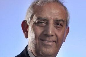 Derbyshire's Police and Crime Commissioner, Hardyal Dhindsa.