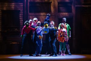 See hit show Avenue Q at Derby Theatre