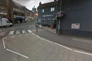 The 'assault' took place in Nottingham Road. Pic: Google Images.