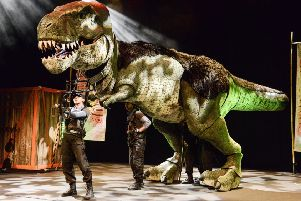 Dinosaur World Live to wow young audiences at Nottingham Royal Concert Hall