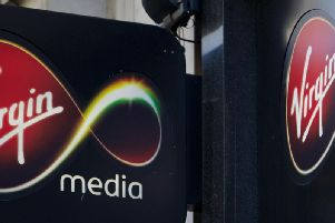 Virgin Media is currently suffering a major outage.  Photo - ANDREW COWIE/AFP/Getty Images
