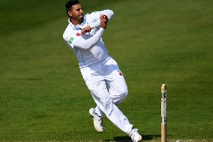 Ravi Rampaul claimed his first five wicket haul in three years.