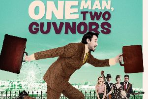 Check out hit comedy One Man, Two Guvnors at Derby Theatre this autumn