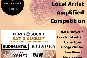 Vote for one of finalists in Local Artist Amplified competition for act to play in same concert as Rita Ora