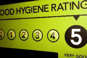 The Food Standards Agency has been busy inspecting Derbyshire restaurants this year