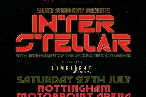Interstellar concert at Nottingham Motorpoint Arena will be out of this world on Saturday