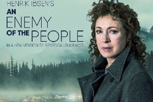 Get your tickets to see TV star Alex Kingston at Nottingham Playhouse