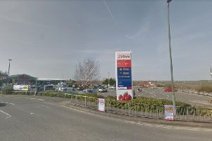 The assault took place near Tesco