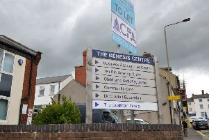 The Genesis Academy was based at the Genesis Business Centre on King Street in Alfreton, as a separate enterprise from other businesses on site.