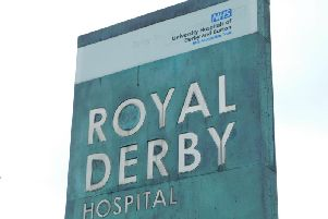 Royal Derby Hospital.