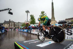 The UCI cycling championships hit Ripon.