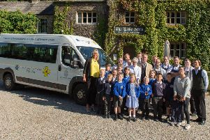 Minibus drives pupils' learning