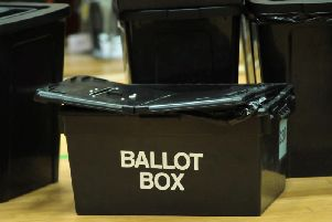 Voters go to the polls in North Yorkshire on May 4.