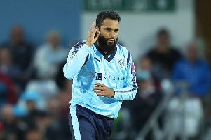 LONG-SERVING: Adil Rashid. Picture: John Clifton/SWpix.com