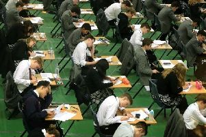 GCSE results have been revealed today.