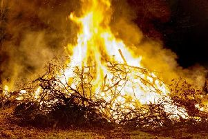North Yorkshire Fire Service received nine calls relating to 'out of control' bonfires during Saturday's night shift.