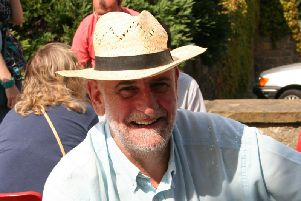 Bowing out - Popular stalwart Tony Cerexhe who is stepping down from feva festival in Knaresborough.