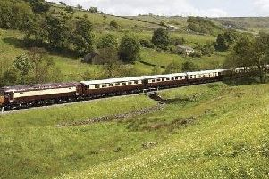 The Northern Belle train