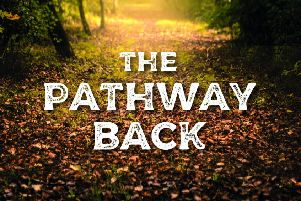Front cover of The Pathway Back, by Hazel Goss