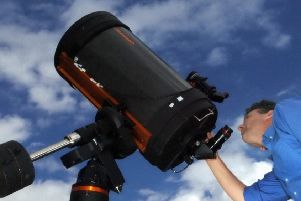 A dark skies event takes place in February and March.