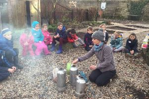 Outdoor learning adventure