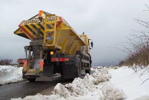 Gritters keeping North Yorkshire's roads safe.