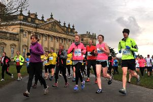 Age Uk Harewood 10k.  (BR1003 40bb)  8 March 2015.  Picture Bruce Rollinson