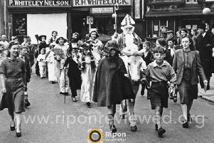 The procession has become a treasured Ripon tradition.
